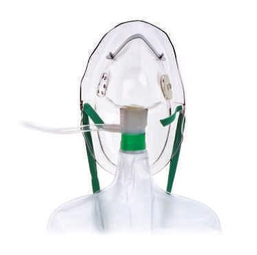 Hudson Nonrebreathing Mask with Safety Vent - Adult