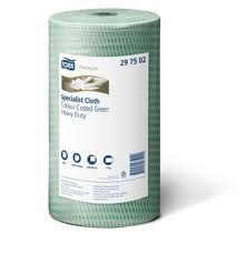 Tork Green Long Lasting Cleaning Cloth (Ct4)