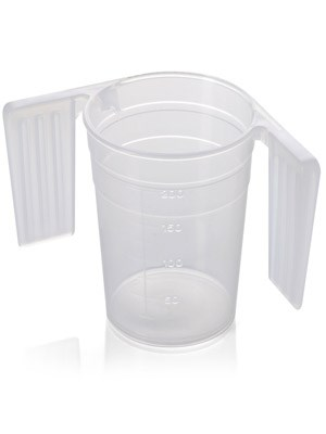 Beaker Feeder Cup 250ml with easy-grip handles