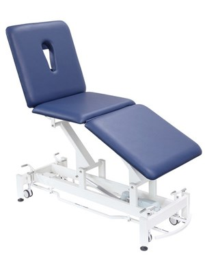 Classic 3 Section Treatment Table 62cm - Imperial Blue