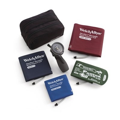 Welch Allyn DS66 Aneroid Sphygmomanometer with Multi-Cuff Kit