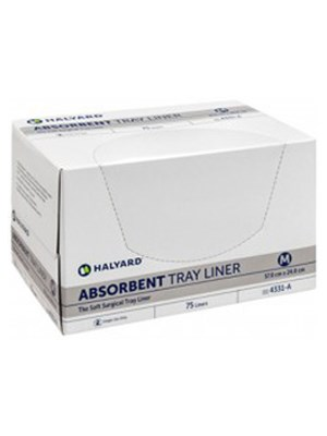 Halyard* Absorbent Tray Liners Large – Pkt/75