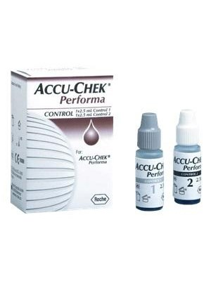 Roche Accu-Chek Performa Control Solution