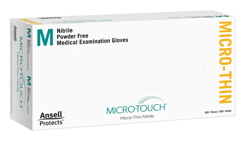 Ansell Micro-Touch Micro-Thin Nitrile Large